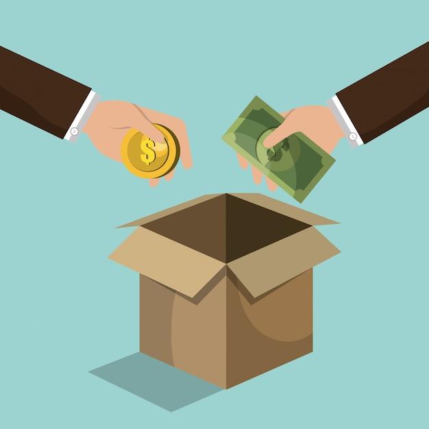 Finanzierungskonzept Kostenlosen Vektoren