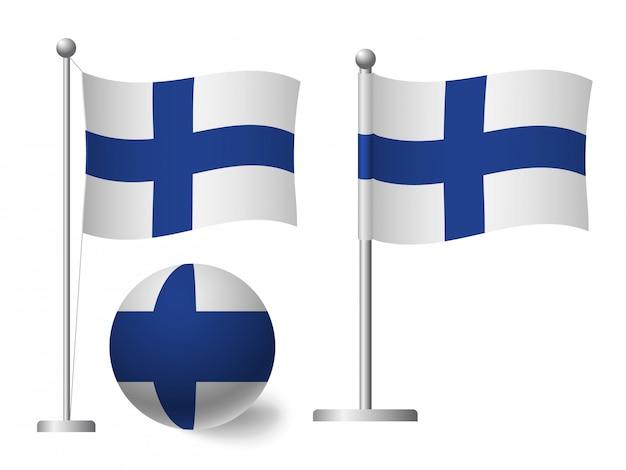 Landesflagge Finnland