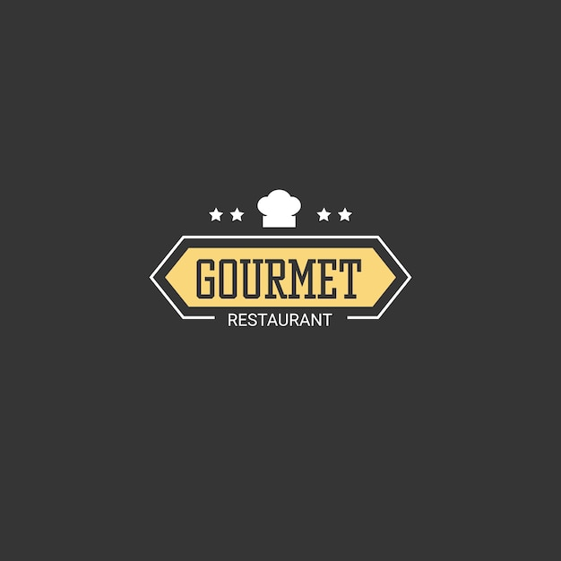 Firmenlogo des restaurantgeschäfts Kostenlosen Vektoren