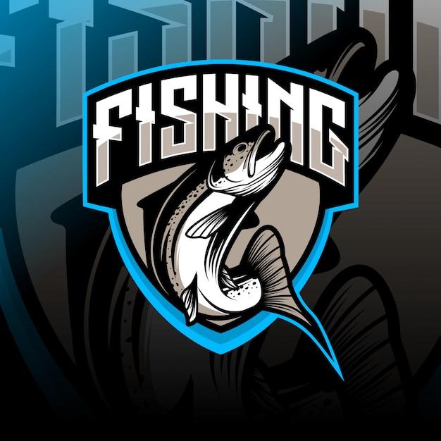 Fischenlogo Premium Vektoren