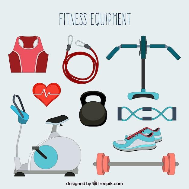 Fitnessgeräte Kostenlosen Vektoren