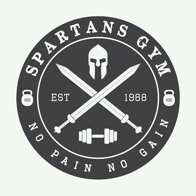 Fitnessstudio-logo Premium Vektoren