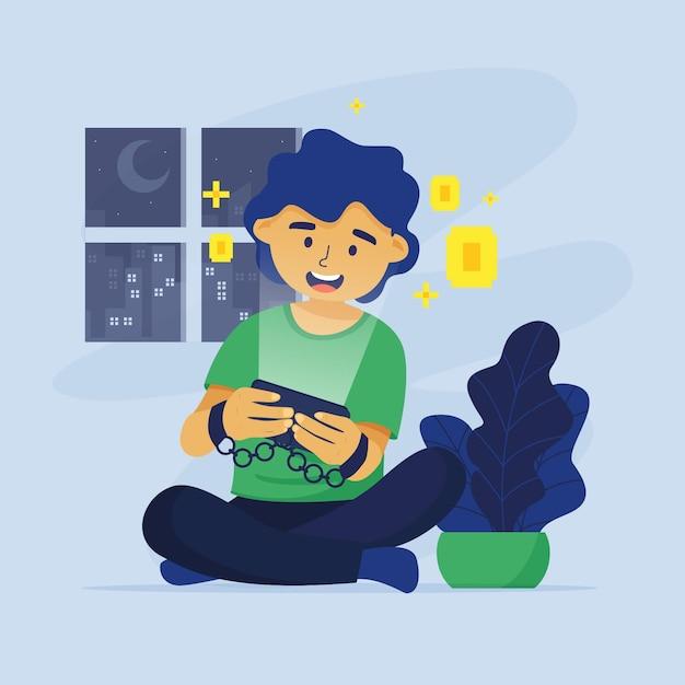 Online Spiele Sucht