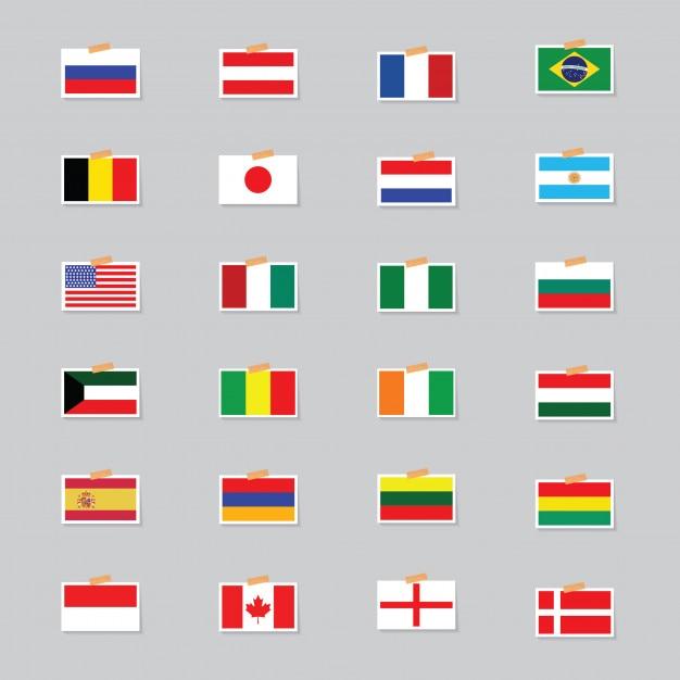 Großzügig Flaggen Der Welt Zu Färben Fotos - Beispiel Anschreiben ...