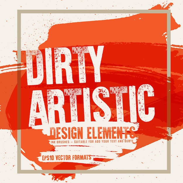 Fleckige abstrakte form befleckt fleckendesign-hintergrundelemente Premium Vektoren