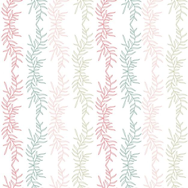 Floral nahtlosen hintergrund. textildruckmuster. Premium Vektoren
