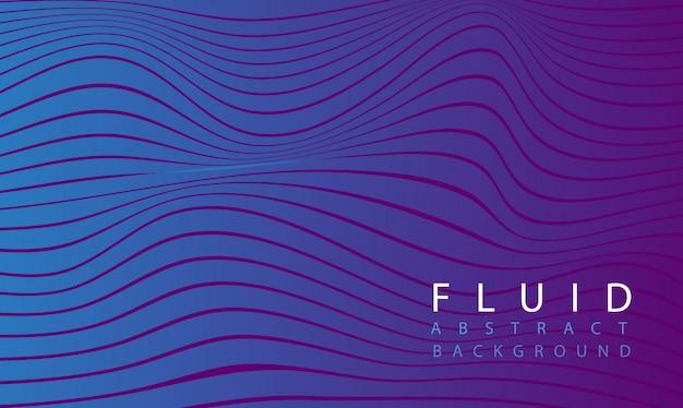 Flüssiger abstrakter purpurroter hintergrund Premium Vektoren