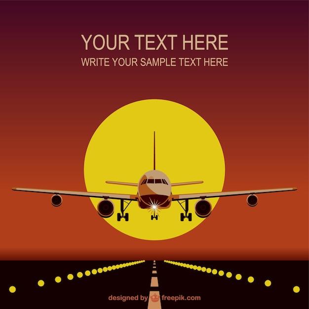 Flugzeug-Vorlage kostenlos herunterladen | Download der kostenlosen ...
