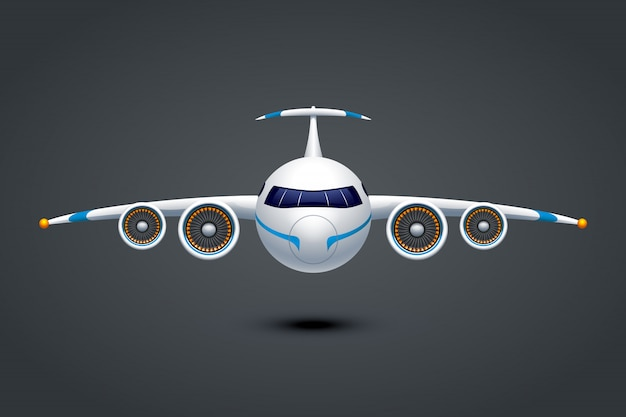 Flugzeug Premium Vektoren