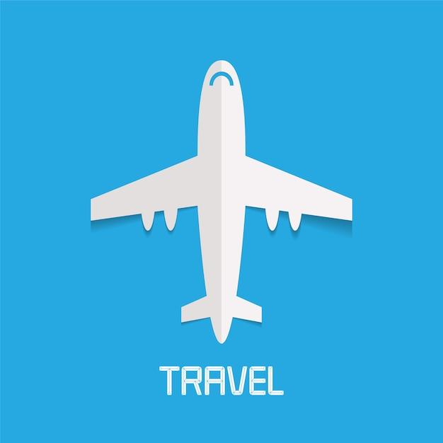Flugzeugillustration Premium Vektoren
