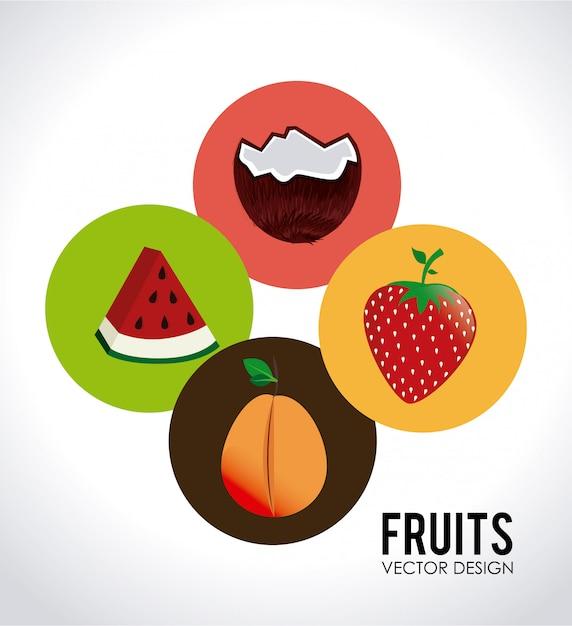 Food-design Kostenlosen Vektoren