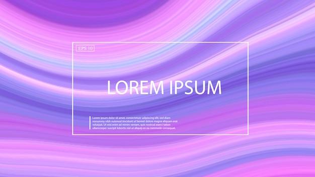 Form-farbhintergrund der marmorwelle flüssiger. Premium Vektoren