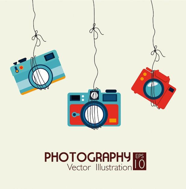 Fotografie-design Premium Vektoren