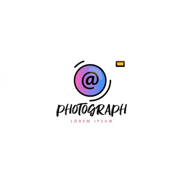 Fotografie-logo Premium Vektoren