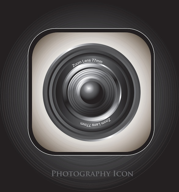 Fotografie-symbol Premium Vektoren
