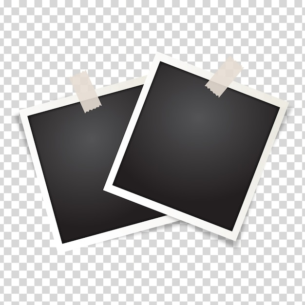 Fotorahmen isoliert Kostenlosen Vektoren