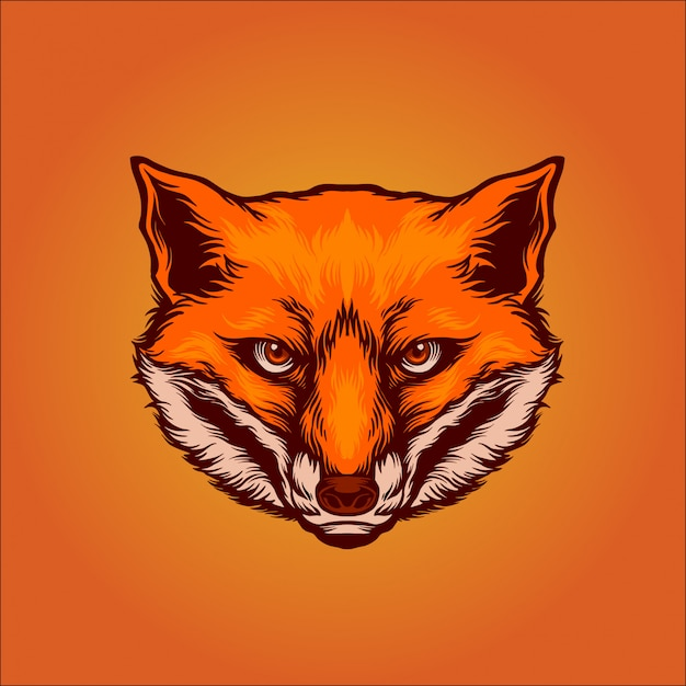 Foxy Premium Vektoren