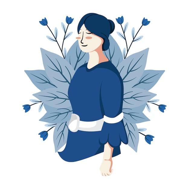 Frauentag illustration Premium Vektoren