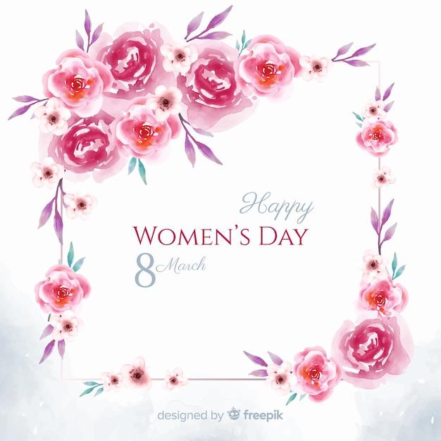 Frauentag Kostenlosen Vektoren