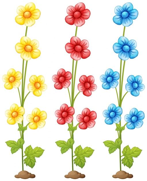 Frische Blätter Clipart Pflanze blau | Download der kostenlosen Vektor