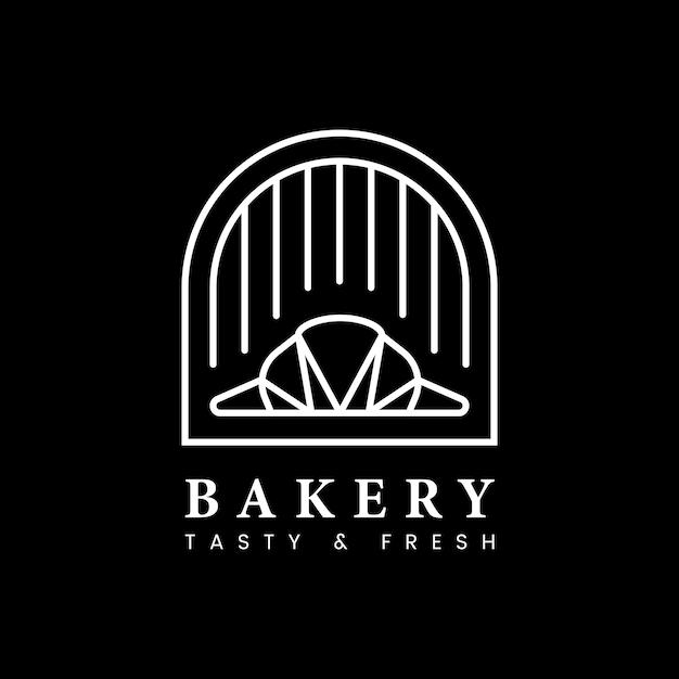 Frischer bäckerei konditoreilogo Kostenlosen Vektoren