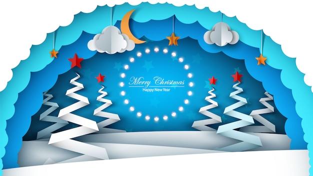 Fröhliche weihnachten Premium Vektoren