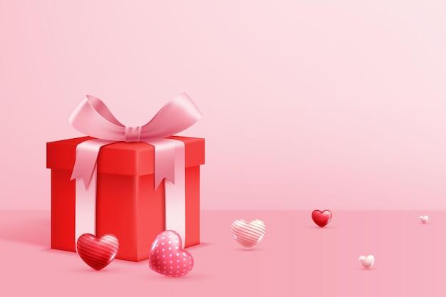 Fröhlichen valentinstag Kostenlosen Vektoren