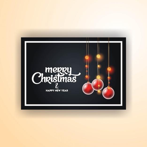 Frohe weihnachten 2019 banner vorlage Kostenlosen Vektoren