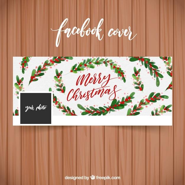 Frohe Weihnachten Bilder Facebook.Frohe Weihnachten Aquarell Cover Fur Facebook Download Der