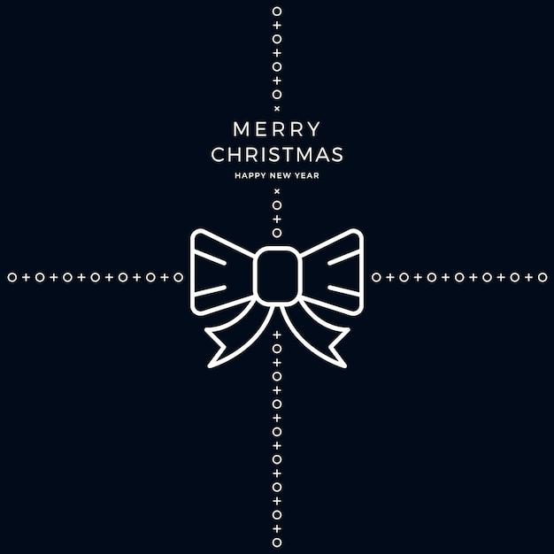 Frohe Weihnachten Band.Frohe Weihnachten Band Bogen Weißen Schwarzen Hintergrund Download