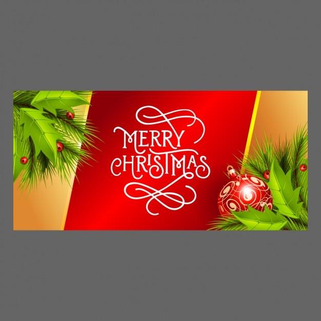 frohe weihnachten banner mit flitter und mistel download. Black Bedroom Furniture Sets. Home Design Ideas