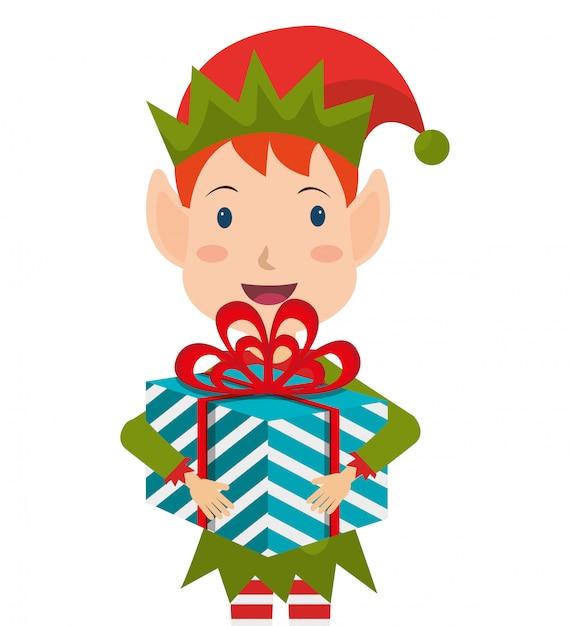 Frohe weihnachten bunte kartendesign Kostenlosen Vektoren