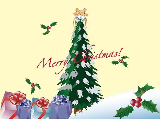 frohe weihnachten dekorationen gru karte download der. Black Bedroom Furniture Sets. Home Design Ideas