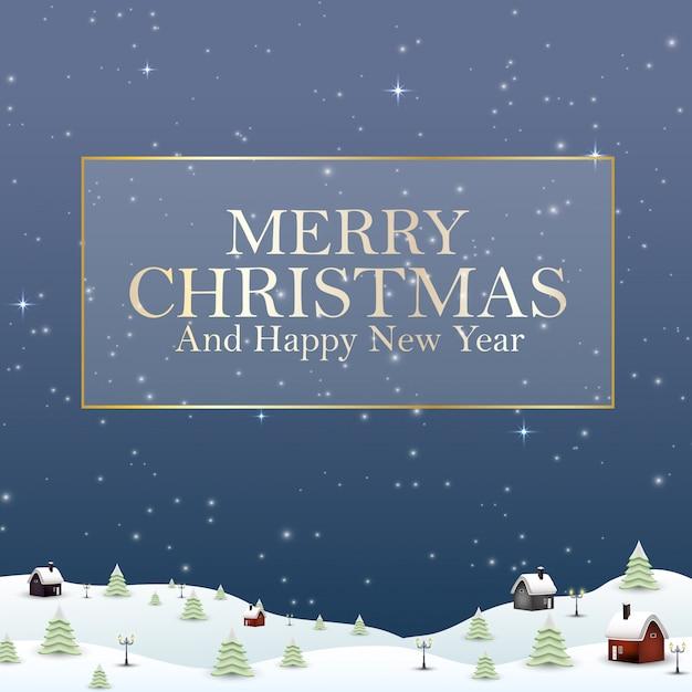 Weihnachten 2019 Schnee.Frohe Weihnachten Des Guten Rutsch Ins Neue Jahr 2019 Und Schnee