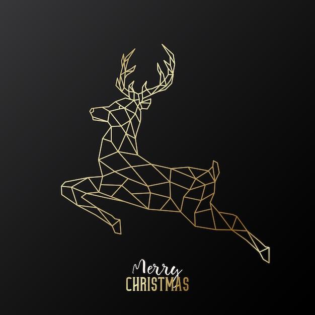 Frohe weihnachten design. Premium Vektoren