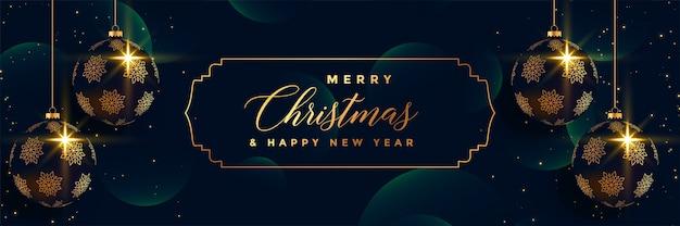 Frohe Weihnachten 3d.Frohe Weihnachten Die Erstklassige Fahnendesign Der Kugeln 3d Hängt