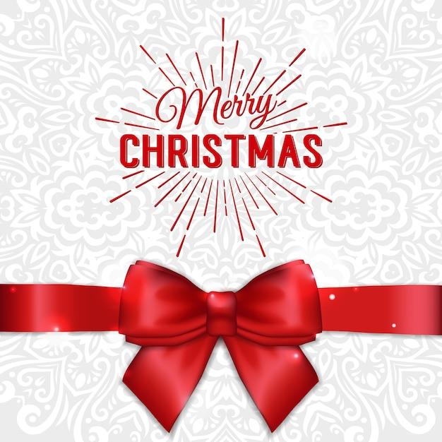 Frohe weihnachten & frohes neues jahr karte Premium Vektoren