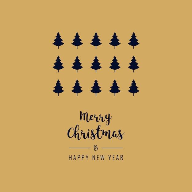 Frohe Weihnachten Text Karte.Frohe Weihnachten Gruss Text Karte Goldenen Hintergrund