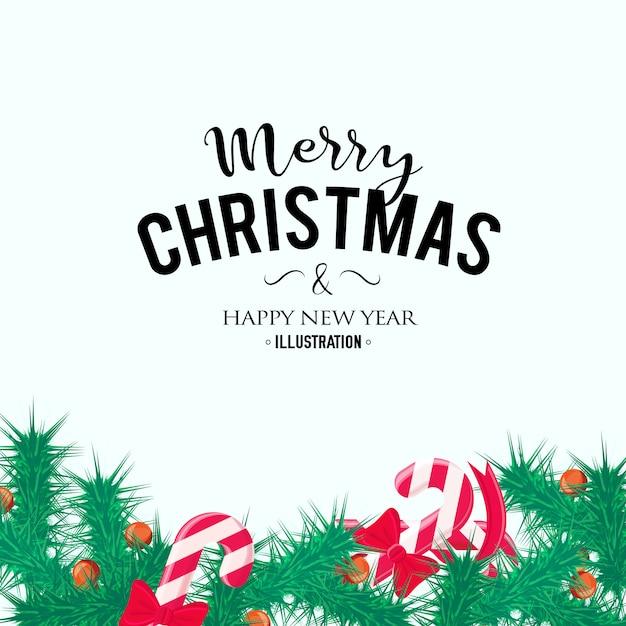 Frohe weihnachten hintergrund. perfektes dekorationselement für karten, einladungen und andere Kostenlosen Vektoren