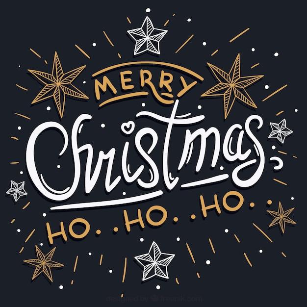 Ho Ho Ho Frohe Weihnachten.Frohe Weihnachten Ho Ho Ho Download Der Kostenlosen Vektor
