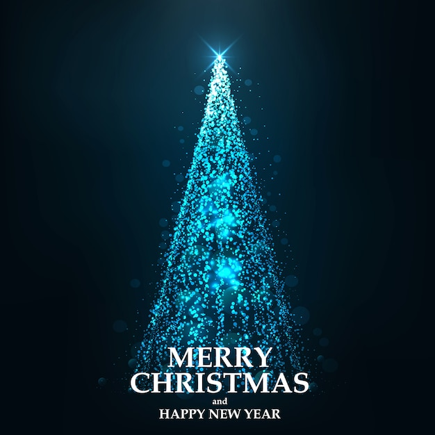 Frohe weihnachten-karte Premium Vektoren