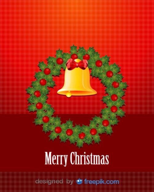 frohe weihnachten mit einer dekorativen weihnachts kreis. Black Bedroom Furniture Sets. Home Design Ideas