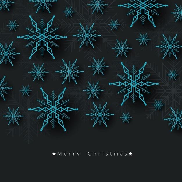 frohe weihnachten sch nen hintergrund mit schneeflocken. Black Bedroom Furniture Sets. Home Design Ideas