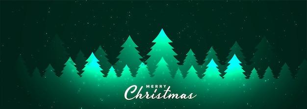 Frohe weihnachten und ein gutes neues jahr banner Kostenlosen Vektoren