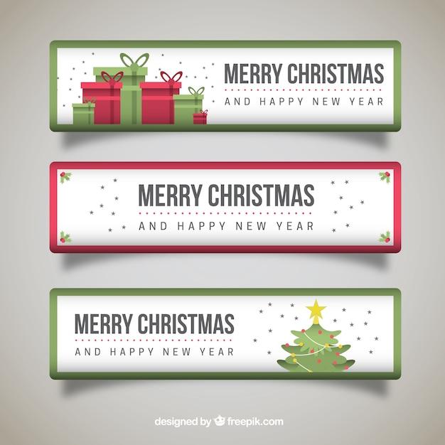 frohe weihnachten und neujahr banner pack download der. Black Bedroom Furniture Sets. Home Design Ideas