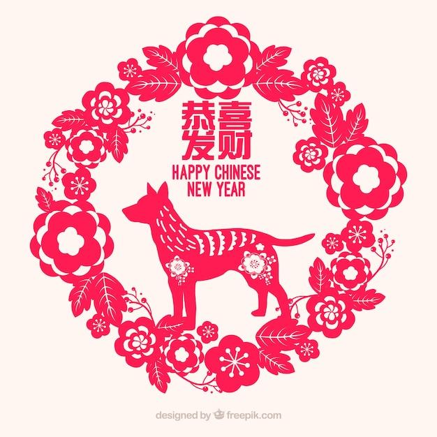 Frohes chinesisches neues Jahr | Download der kostenlosen Vektor