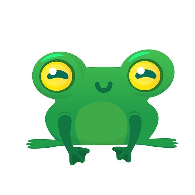Frosch Premium Vektoren