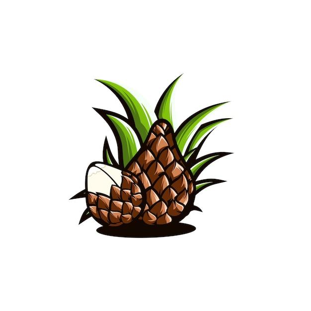 Fruchtschlange-logo Premium Vektoren