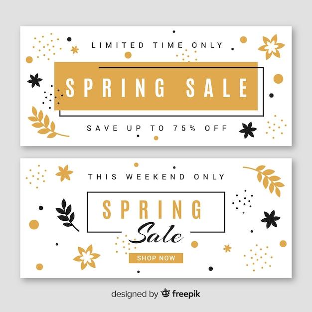 Frühlingsverkauf Kostenlosen Vektoren
