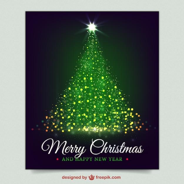 funkelnde weihnachtsbaum karte in lila farbe download. Black Bedroom Furniture Sets. Home Design Ideas